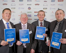 Guild Members at UK Coach Awards