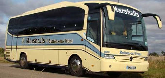 Marshalls of Sutton on Trent Coaches