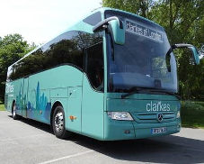 A Clarkes of London coach