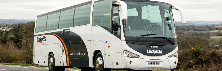 Lucketts Coaches image