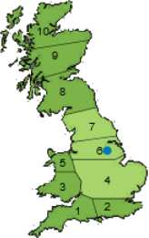 Marshalls of Sutton on Trent location and area covered
