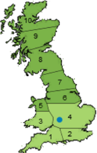 Pulhams location and area covered