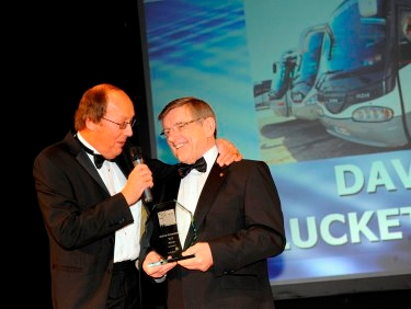 David Lucketts recieves Lifetime Achievement Award