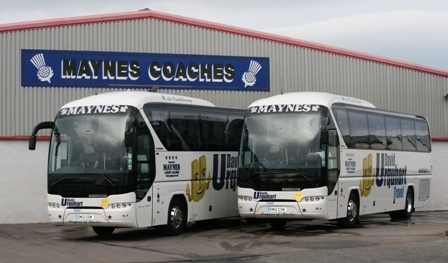 Maynes invests in new coaches