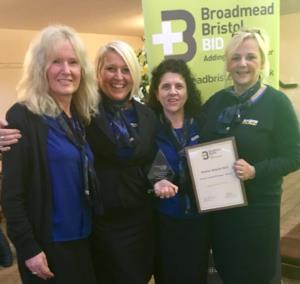 Bakers Dolphin shop award